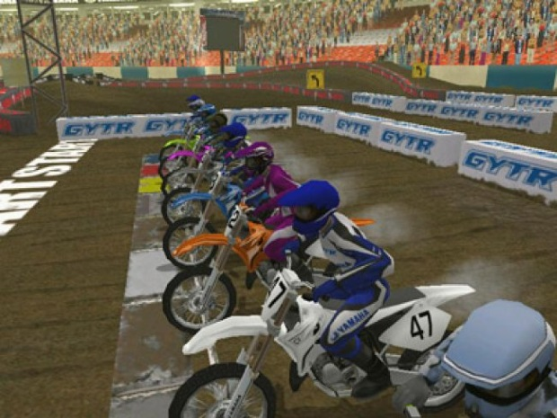 Yamaha Supercross Screenshot
