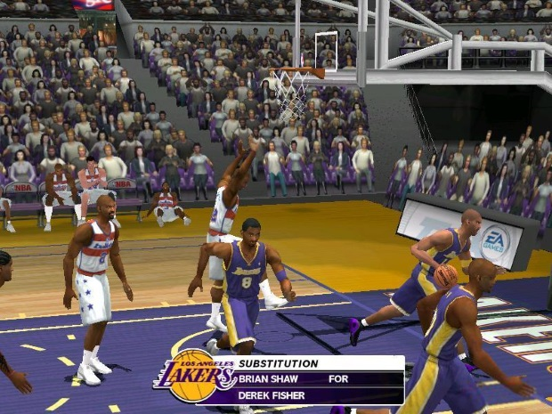 NBA Live 2003 Video Game