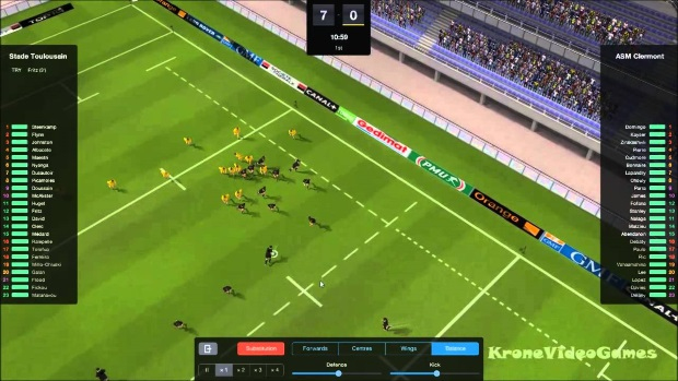 Rugby League Team Manager 2015 Video Game