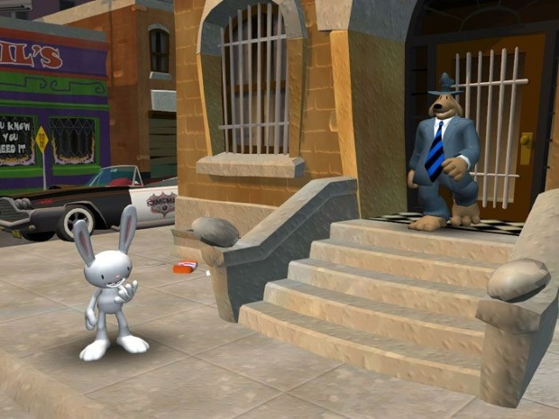 Sam & Max Save The World Screenshot