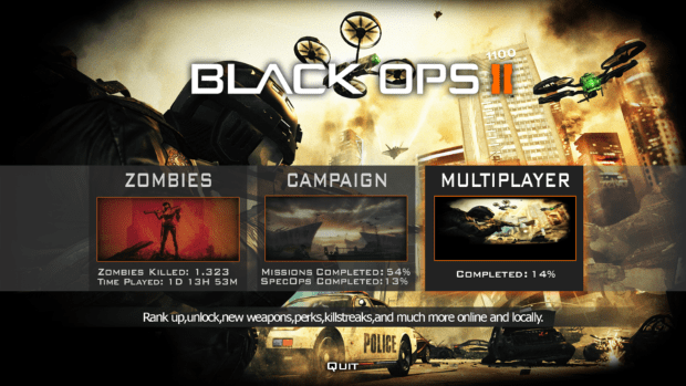 Call of Duty Black Ops 2 Full Version