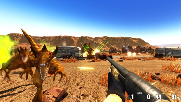 The Alien Wasteland Screenshots