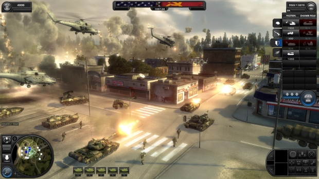World in Conflict Screenshots