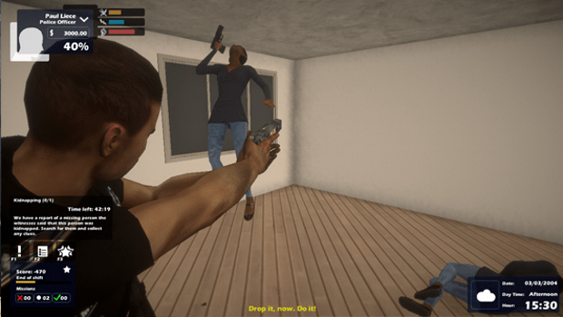 Enforcer Police Crime Action Screenshot
