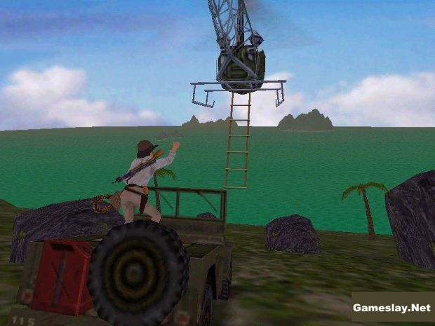 Indiana Jones And The Infernal Machine Video Game