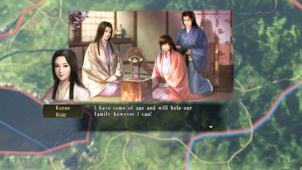 NOBUNAGAS AMBITION Sphere of Influence Screenshots