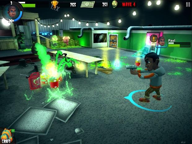 Rooster Teeth vs Zombiens Video Game
