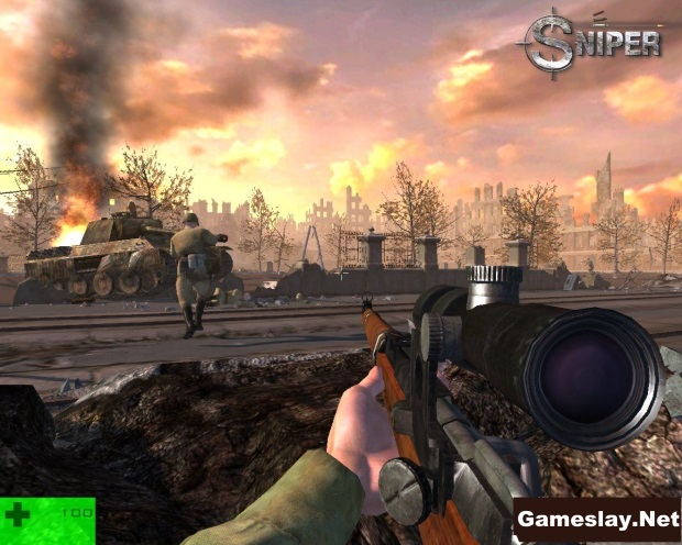 Sniper Path Of Vengeance Video Game