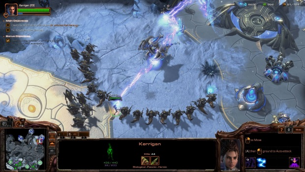 StarCraft 2 Heart of the Swarm Screenshots