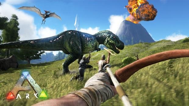 Ark Survival Evolved Video Game