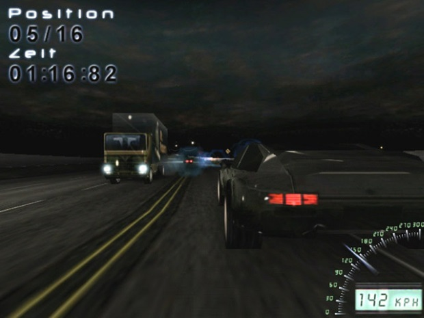 Midnight Racing Long Night Video Game
