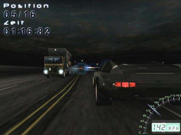 Midnight Racing Long Night Video Game