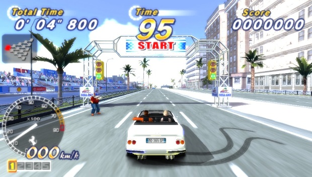 Outrun 2006 Coast 2 Coast Video Game