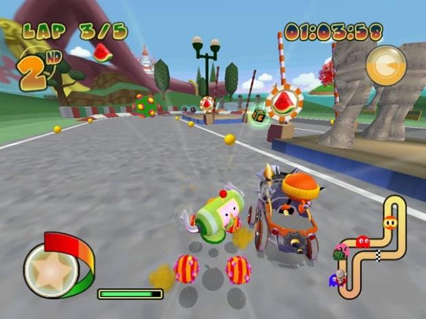 Pac Man World Rally Screenshots