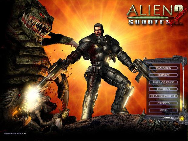 Alien-Shooter-2-Video-Game