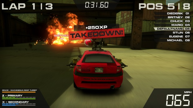 Burnin Rubber 5 HD Video Game