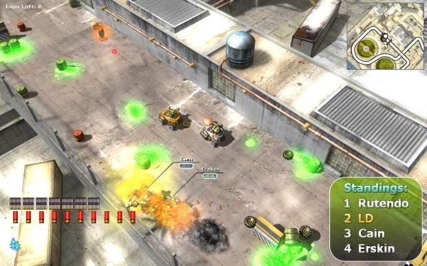 Burning Cars Game Full Version