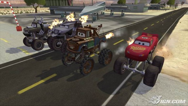 Cars Mater National Championship Video Game