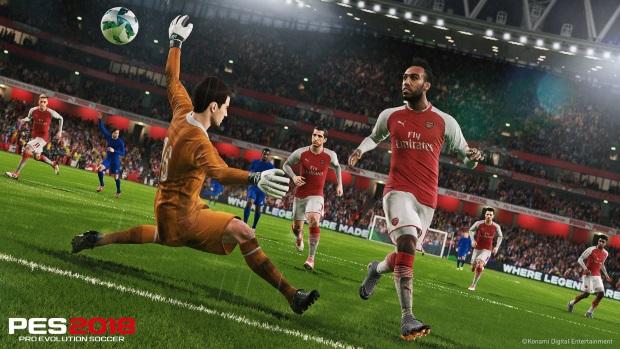 Pro Evolution Soccer 2018 Screenshots