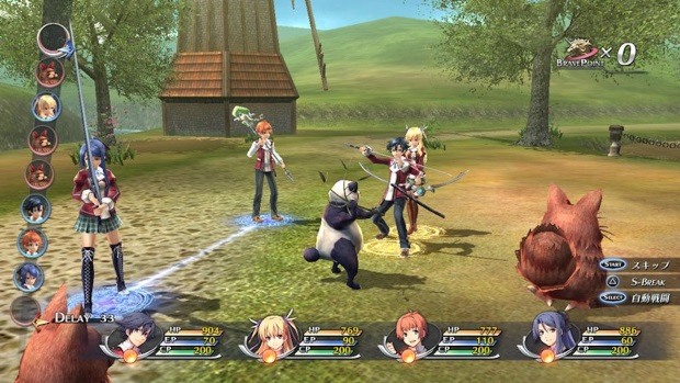 The Legend of Heroes Trails of Cold Steel II Screenshots