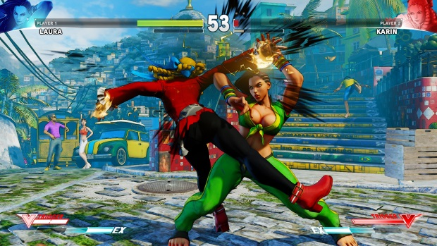 Street Fighter V Arcade Edition Screenshots