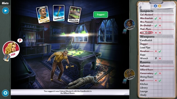 Clue The Classic Mystery Game Screenshots