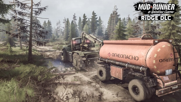 Spintires MudRunner The Ridge Video Game