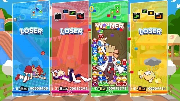 Puyo Puyo Tetris Screenshots