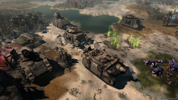 Warhammer 40000 Gladius Relics of War Screenshots