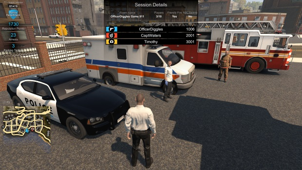 Flashing Lights Police Fire EMS Video Game