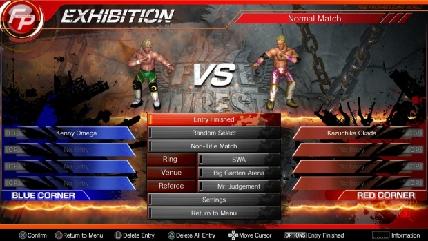 Fire Pro Wrestling World New Japan Pro Wrestling Collaboration Full Version