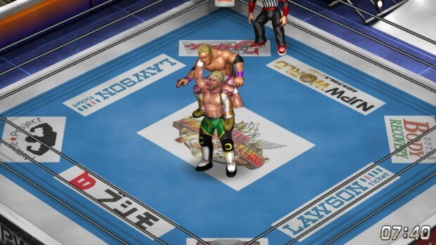 Fire Pro Wrestling World New Japan Pro Wrestling Collaboration Video Game