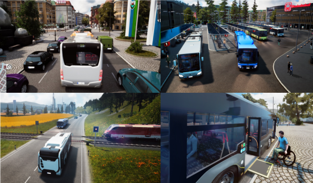 Bus Simulator 18 Free Download Full Version PC Game