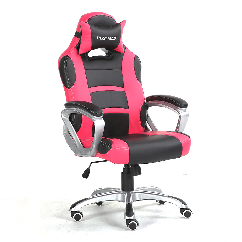 Gamers Chairs Playmax Gaming Chair Pink Black