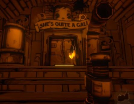 Bendy and the Ink Machine Chapter3-alice angel statue