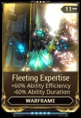 Fleeting Expertise mod