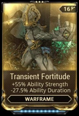 Transient Fortitude mod