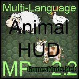 Animal Hud V2 2 187 Gamesmods Net Fs19 Fs17 Ets 2 Mods