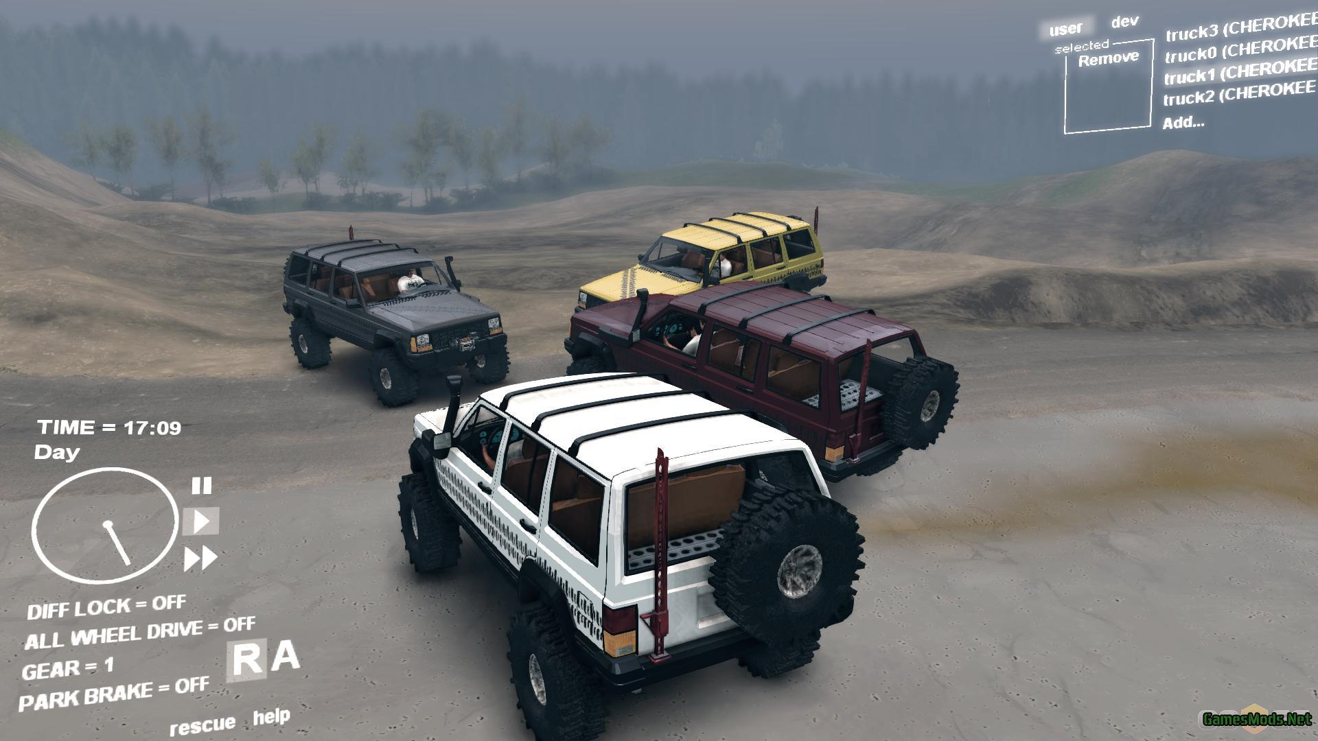 jeep cherokee xj gamesmods