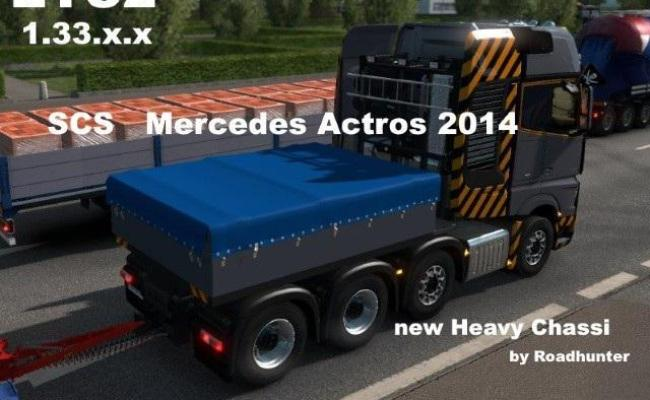 Mercedes Actros 2014 New Heavy Chassi 1 33 X Gamesmods