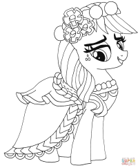My Little Pony Applejack from My Little Pony Coloring Page ...