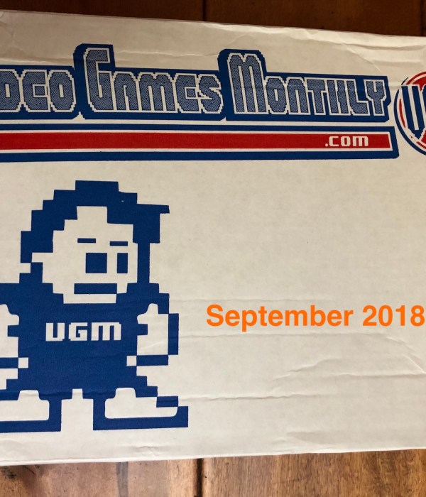 Video Games Monthly Review – September 2018 Box
