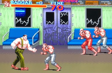 image of Final Fight SNES gameplay