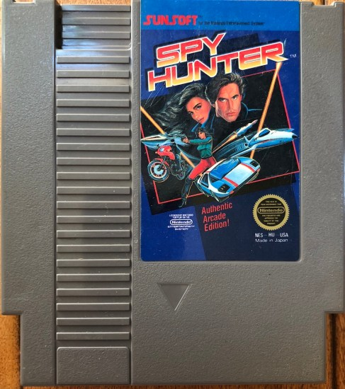 spy hunter NES from retro game treasure subscription box