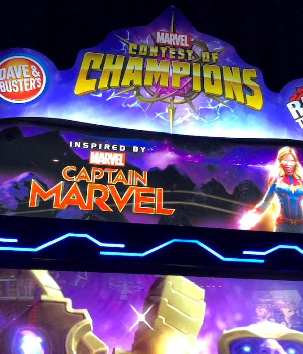 New At The Arcade – Marvel Contest Of Champions Arcade At Dave And Busters