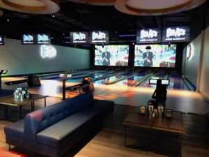 bowling alley at big als silicon valley