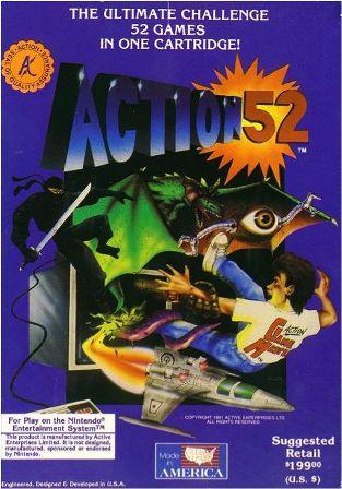 Action 52 Sega Genesis