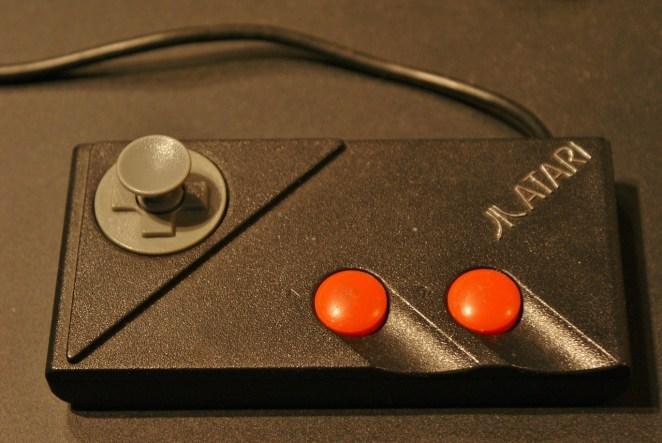 Photo of a Atari controller