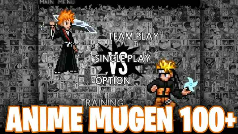 Anime Mugen 100+ Characters Download for Android