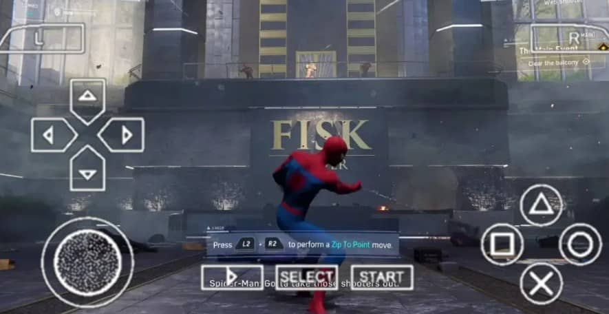 About Marvel Spider Man PPSSPP